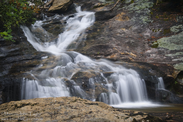 Waterfall on Holcomb Creek II